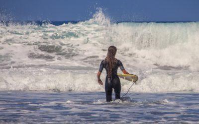 El poder de las olas